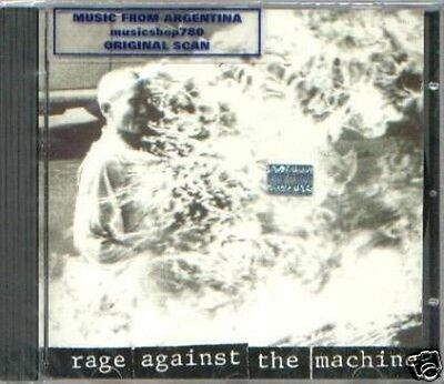 Rage Against The Machine First Album Sealed Cd New