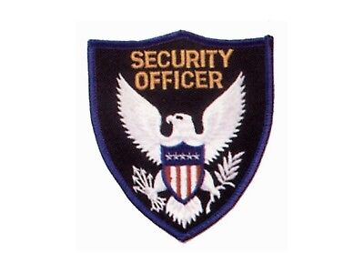 Security Guard Officer Eagle Shirt Uniform Jacket Coat Shoulder Patch Eagle-1B