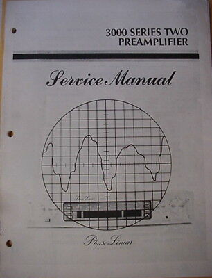 PHASE LINEAR PL 4000 Series II PREAMPLIFIER SERVICE MANUAL 53 Pages