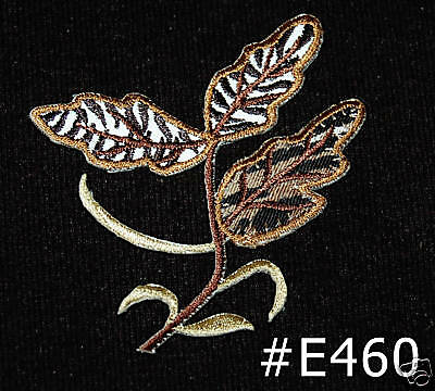 """#4368 12/""""x9/"""" Embroidery Iron On Tiger Applique Patch"""