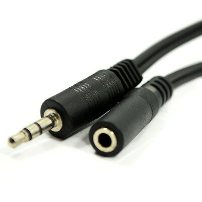 Headphone EXTENSION Cable Lead - 5m
