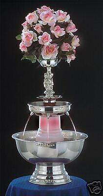"""30"""" Apex Tropicana Stainless Steel Champagne Punch Beverage Fountain 5 Gallon"""