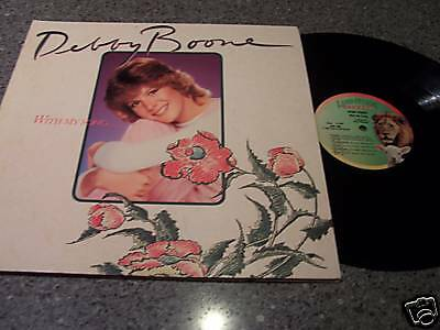 """Debby Boone """"With My Song"""" LP"""