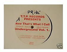 "12"" Mix 4 Tracce Now That's What I Call Underground 1"