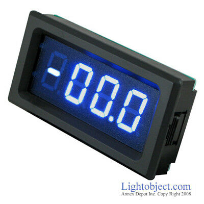 UP8135 BLUE LED DC 200V Digital Volt Meter Power 6-15V