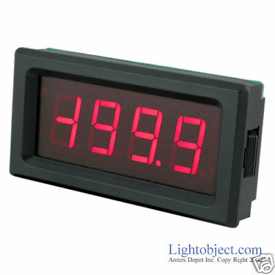 UP8135 RED LED AC 500V Digital Volt Meter Power 6-15V