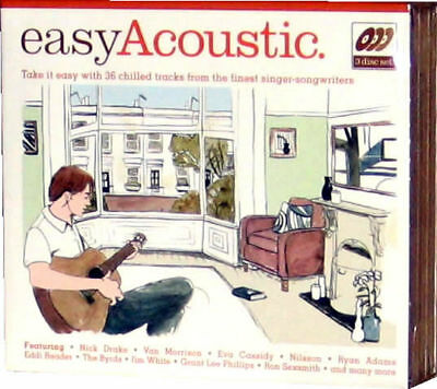 Easy Acoustic 3 CD Music Nick Drake Van Morrison - NEW