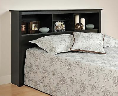 Sonoma Double/Full/Queen Size Bed Headboard - Black NEW