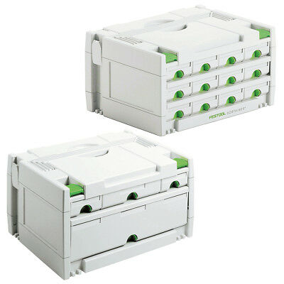 FESTOOL Sortainer SYS 3-Sort/4 + Sort/12 im Set  491986