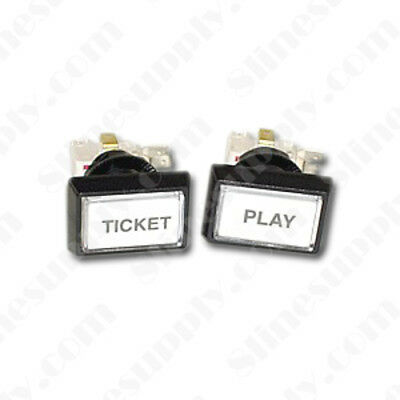 Brand New Classic Pot-O-Gold TICKET and PLAY Button Set