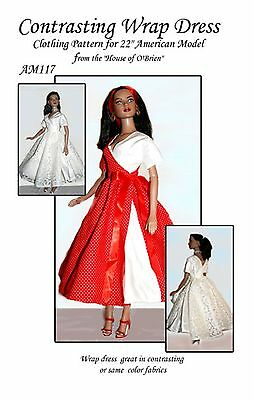 Tonner AM108  Ball Gowns Pattern for American Model