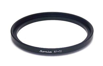 Metal Step up ring 67m to 72mm 67-72 Sonia New Adapter