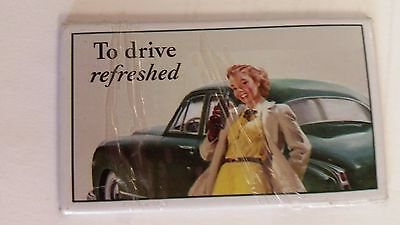 Coca Cola Coke Retro Images Vintage Style Graphics Advertising Magnet Girl/ Car