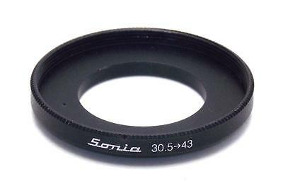 Metal Step up ring 30.5mm to 43mm 30.5-43 Sonia New