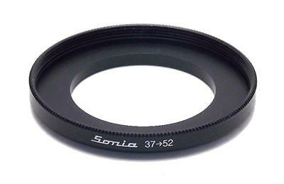 Metal Step up ring 37mm to 52mm 37-52 Sonia New Adapter