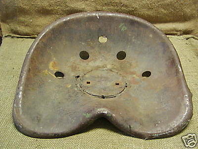 Admirable Vintage Steel Tractor Seat Antique Tractor Parts Old 89 95 Wiring Cloud Xeiraioscosaoduqqnet