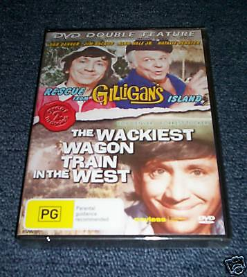 Rescue Gilligan's Island & The Wackiest Wagon Train NEW