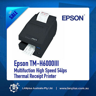 Epson TM-H6000III Multifuction High Speed 54lps Thermal Receipt Printer