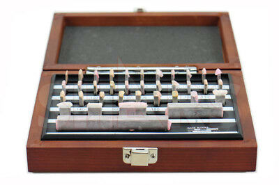 "SHARS 36pc Economy Grade Steel Gage Block Set .0500 - 4"" With NIST CERTIFICATE"