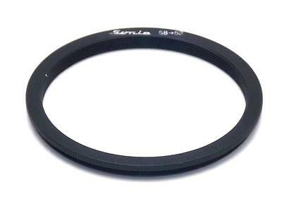 Metal Step down ring 58mm to 52mm 58-52 Sonia New