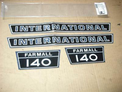 Farmall/international 140 Hood Decals Only. See Details