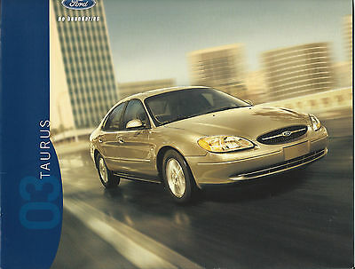 Mint Condition 2003 FORD TAURUS I BROCHURE 03