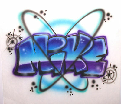 Custom Airbrushed shirt - Personalized w/YOUR Name