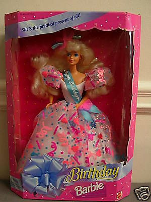Barbie Happy Birthday 1994 Edition Nrfb