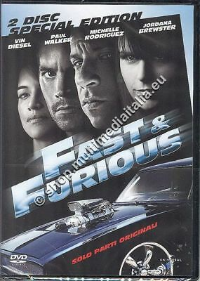 Fast & Furious 4 Solo Parti Originali Ed.spec.2 Dvd New
