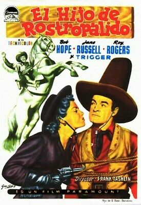 SON OF PALEFACE MOVIE POSTER Bob Hope - Roy Rogers 1