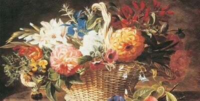 BOUQUET OF FLOWERS POSTER Magnificent ART PRINT I