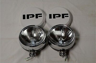 Ipf 900 Round 4Wd Spot Driving Flood Lights + Free Wiring Loom ~Brand New~
