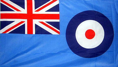 8' x 5' RAF FLAG Blue Ensign Royal Air Force Extra Large Funeral Coffin Drape
