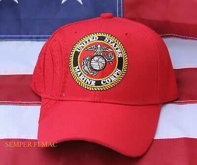 Us Marines Hat Us Marine Cap Wowmh Veteran Graduation Retirement Gift Usmc Wow
