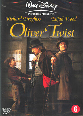 Oliver Twist - Richard Dreyfuss - Disney - Dvd Sealed