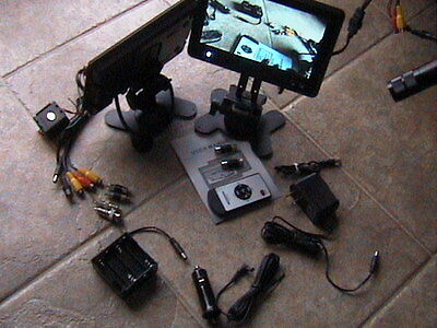 Wireless Color License Plate Camera+Lcd Tv Back Up View