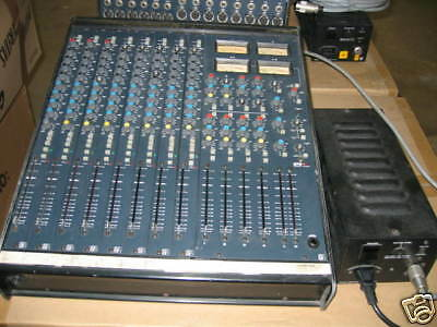 Console De Production Soundcraft Serie 200 Bve