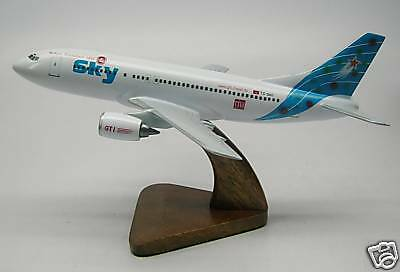 B-737 Sky Airlines Boeing B737 Airplane Wood Model Free Shipping