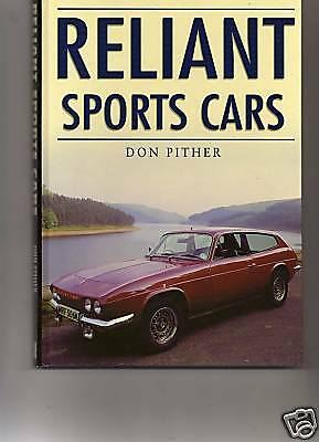 Reliant Sports Cars By Don Pither