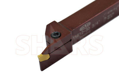 SHARS 3/4 x 3/4 SHANK PRECISION GROOVING & PROFILE TURNING TOOL HOLDER GTN 3 NEW