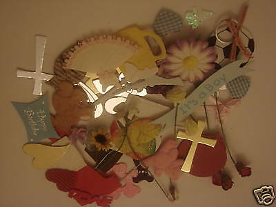 Pack of 50 Embellishments SURPRISE MIXED SELECTION  Paper crafts & Scrapbooking