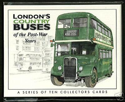 LONDON'S COUNTRY BUSES - Collectors Cards - Green Line