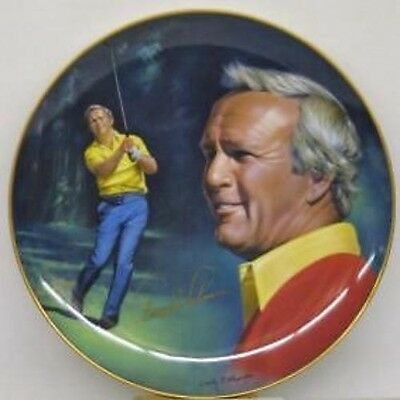 Arnold Palmer Autographed Limited Edition Golf Hackett American   Plate