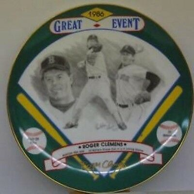 Roger Clemens  Autographed  Hackett American  Plate