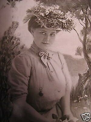 1903 THEATER STAR photo Burr McIntosh ISABELLE WHITLOCK