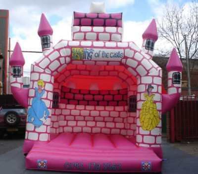 Princess Bouncy Castle 18.5 FT X 13.5 FT Made To Order