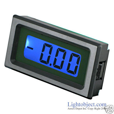 UP8035 BLUE LCD DC 20V Digital Volt Meter Power 6-15V