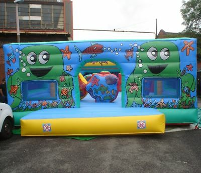 Octopus Activity Centre Inflatable 25' x40' Made To Order