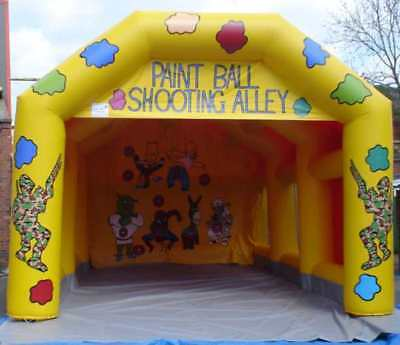 Paintball 17 FT x 35 FT Made To Order
