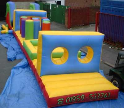 Obstacle Course  10 FT x 40 FT x 8 FT Made To Order